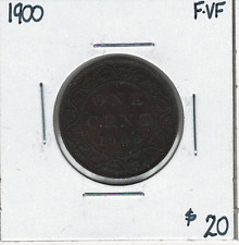 Canada 1900 Large 1 Cent F/VF