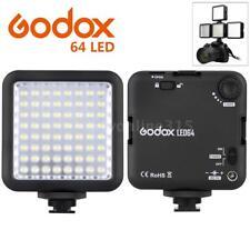 Godox LED64 64 LED Photo Video Fill Light Panel for DSLR Camera Camcorder DVR DV