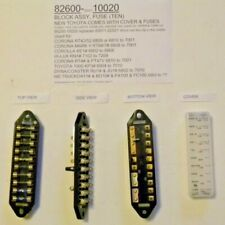 Toyota Corona 69-70 RT4#/5# & Others Ten Fuse Block 82600-10020 Genuine Toyota