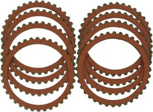 Drag Specialties Organic Friction Clutch Plate Kit (8 Plates) for Big Twin 90-97