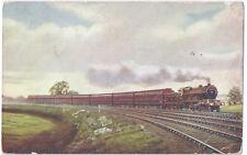 North British Railway.: Edinburgh-London Dining Car Express - Posted 1914