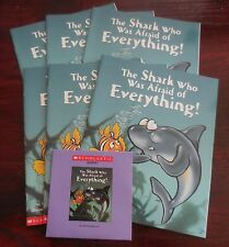 The Shark Who Was Afraid of Everything! Scholastic Listening Center 6 Books w/CD
