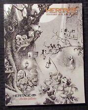 2010 HERITAGE Comics & Comic Art Auction Catalog Nov 18-19 VF 8.0 294pgs