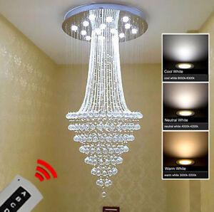 Modern fashion K9 Crystal Ceiling Light Pendant Lamp Chandelier Lighting #9811