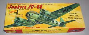 Junkers Ju 88 Vintage Lindberg 1/64 Complete & Unstarted.