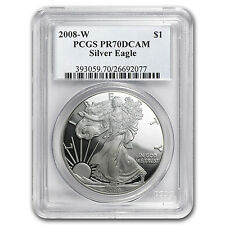 2008-W Proof Silver American Eagle PR-70 PCGS - SKU #44179