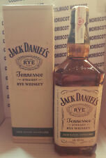 JACK DANIEL'S TENNESSE STRAIGHT RYE WHISKEY 45% 100cl 1L 1000ml Jack Daniels BOX