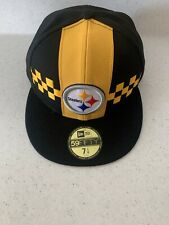 Pittsburgh Steelers New Era 59Fifty Hat NFL  Fitted Cap 7 1/4``