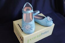 #335 NEW TODDLER GIRL DRESS SHOES SHINY Pink/Blue/White 4-6 Years Old Wedding
