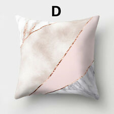 Pillow Case Rose Gold Shining Printed Sofa Cushion Cover Pillowcase Home Decor