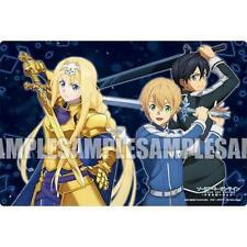 Sword Art Online SAO Eugeo Kirito Alice Character Rubber Play Mat Vol.140 Anime