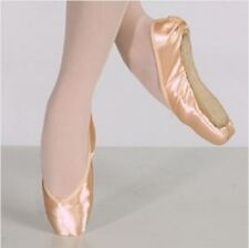 Chacott Women's 24.5E (fits size 7.5) Pink Veronese Pointe Shoes