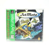 Jet Moto Greatest Hits (Sony PlayStation 1, 1997) PS1 Complete CIB
