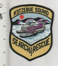 US Police Patch Kotzebue Sound Alaska Snowmobile Search and Rescue