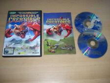 Impossible CREATURES PC CD ROM VERSIONE ORIGINALE CON MANUALE-Spedizione Veloce