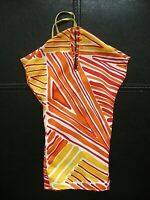 Vintage Ideal Tuesday Taylor Doll Outfit -Original Orange-Yellow-White