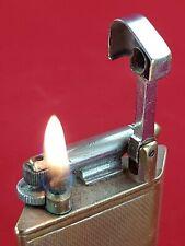 "Rare Vintage Petrol Lighter ""Oblique"" Dunhill Parker Beacon Regd No 790474"