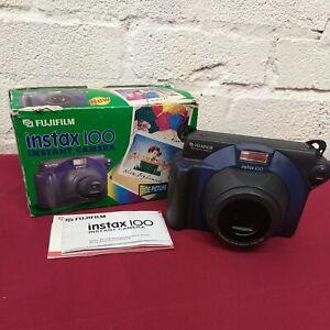 FUJIFILM FUJI Instax 100 Instant camera Takes Instax wide film Boxed Working