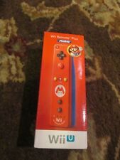 Nintendo Wii U Remote Plus MARIO RED OEM NEW SEALED Authentic