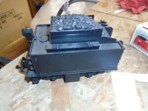 LGB 2317/6 :: Black Undecorated Motorized Tender w/ Rear Lantern Light G-Scale