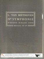 Beethoven Symphonie IV Bdur -Bflat major -Si b majeur