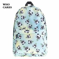 MALLrat panda print backpack, school bag, for teenage girls,