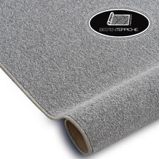 Long Life Modern Carpet Floor Eton Grey Silver Large Sizes! Rugs On Dimensions