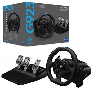 Logitech G923 Trueforce Sim Racing Wheel for PS5 PS4 & PC NEW