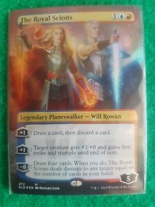 Mtg The Royal Scions Borderless extended art Foil M/Nm From Pack