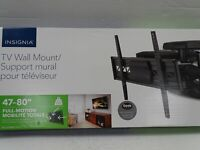 "Insignia 47"" - 80"" Full Motion TV Wall Mount - NS-HTVMM1703"