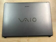 Sony Vaio VGN-FE VGN-FE41E PCG-7R1M Top Upper LCD Lid Cover Plastic 2-664-783