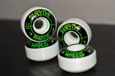 Survive Skateboards crosshair 53mm wheels
