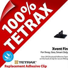 1 x Tetrax Rechange Colle Clip Xvent Noir (Pour utilisation avec Support)