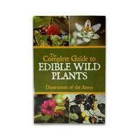 Complete Guide to Edible Plants Outdoor Survival Plant Book - US Army Guide