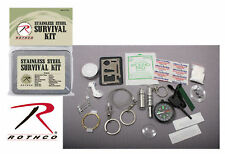 Rothco US Military Army Military USMC Hiking Camping Boy Scout Cub Survival Kit
