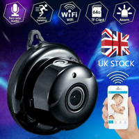 Hidden Spy 1080P Wireless WiFi Mini IP Camera CCTV Security Cam Night Vision UK