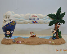 Disney Cruise Line Ship Panoramic Picture Frame Mickey Minnie Chip Dale Goofy