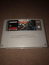 Super Castlevania 4 IV Snes Super Nintendo Cart Only Tested/working