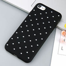 For iPhone 6 6s 7 Plus Slim Shockproof Silicone Polka Dot Soft TPU Case Cover KY