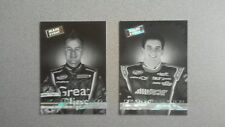 2011 NASCAR Wheels Main Event Lot of 2 Black & White Parallel Insert Cards