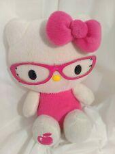 Sanrio  Hello Kitty Embroidered Plush Retro Pink Glasses 2010