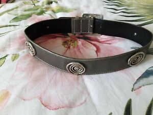 Escada Grey leather Belt size S EU36