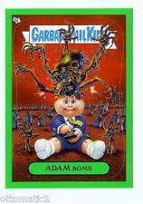 2011 GARBAGE PAIL KIDS FLASHBACK ADAM MANIA GREEN #8 OF 10