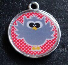 Cute Owls no.2 Designer Pet ID Tags Dog Cat Tag