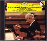 Rudolf SERKIN: MOZART Piano Concerto No.9 & 17 Claudio ABBADO CD Klavierkonzerte