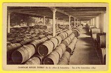 cpa EPERNAY (Marne) CHAMPAGNE MERCIER Cellier de Fermentation FÛTS de VIN Pub