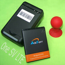 Lot of AceSoft Extra Battery Wall Charger Holder for HTC One SV LTE Boost Mobile