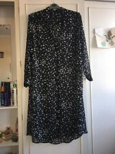 Size 22 Black And White Maxi Shirt