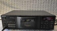 Sony TC-C5 5 Stereo Cassette Changer recorder , Auto Reverse, HX PRO