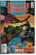 "DC Comics JUSTICE LEAGUE AMERICA #26 ""Bug Hunt"" VF- May '89"
